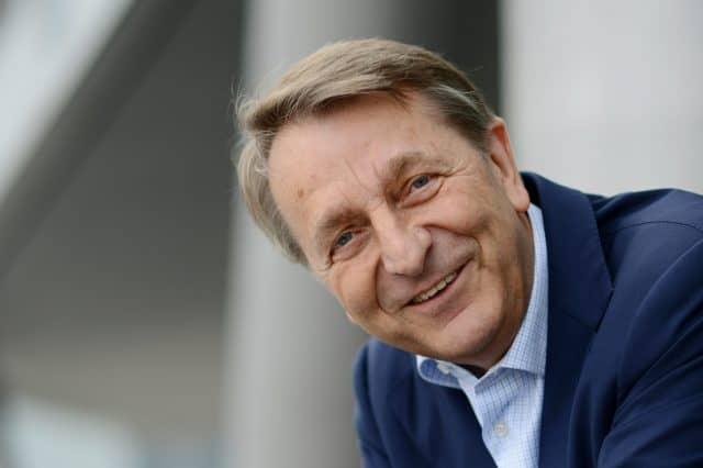Walter Gunz , aufgenommen am 09.10.2013 auf der 65. Frankfurter Buchmesse in Frankfurt am Main (Hessen).